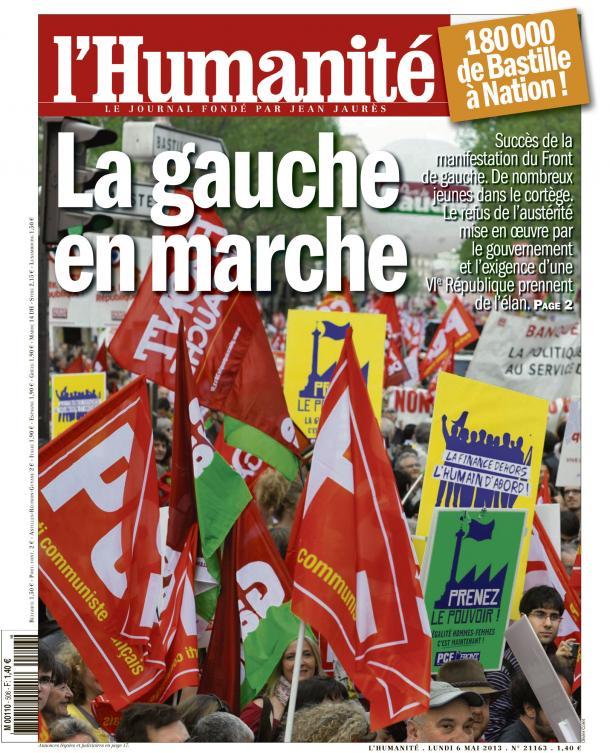 L'amorce d'une espérance dans F. Hollande huma0605
