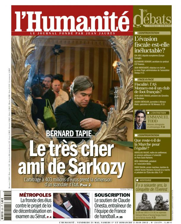 Magouilles entre amis dans France huma3105