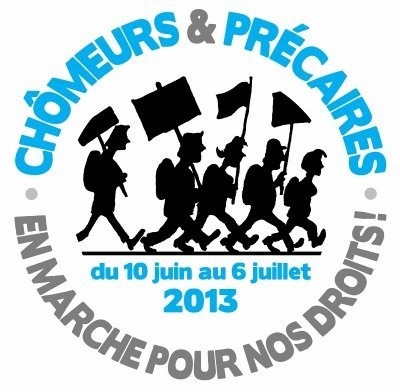 10 juin - 6 juillet : Marche des chômeurs et précaires  dans Chomage marche-chomeurs