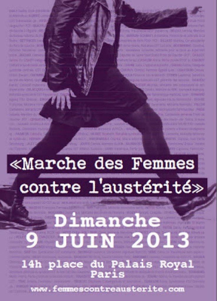 9 juin : Marche des femmes contre l'austérité dans Austerite marche-femmes