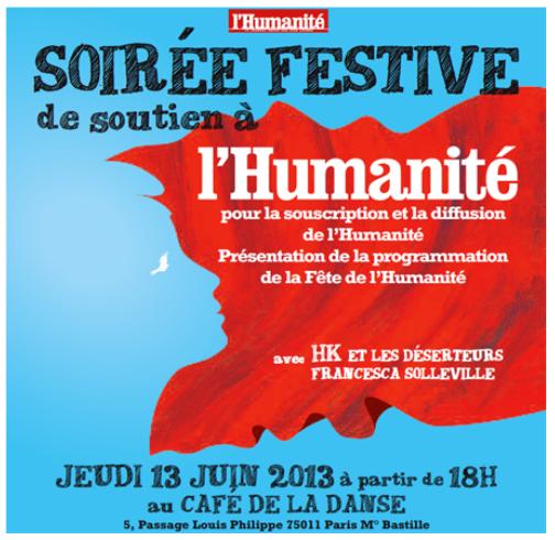 Fête de l'Humanité 2013 dans Humanite Dimanche fetehuma