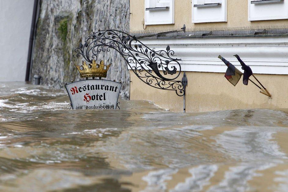 Fortes inondations à Prague et en Allemagne dans Allemagne inodation