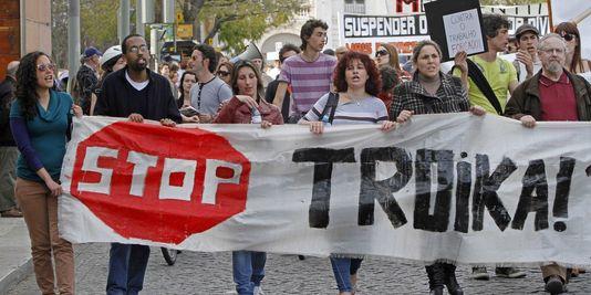 La contestation s'élargit au Portugal contre l'austérité dans Austerite portugal