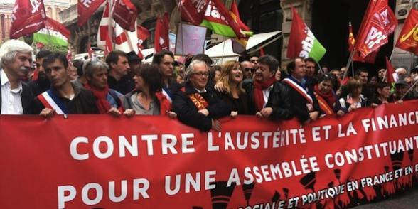 Front de gauche : mobilisations contre l'austérité dans Austerite toulouse_fdg