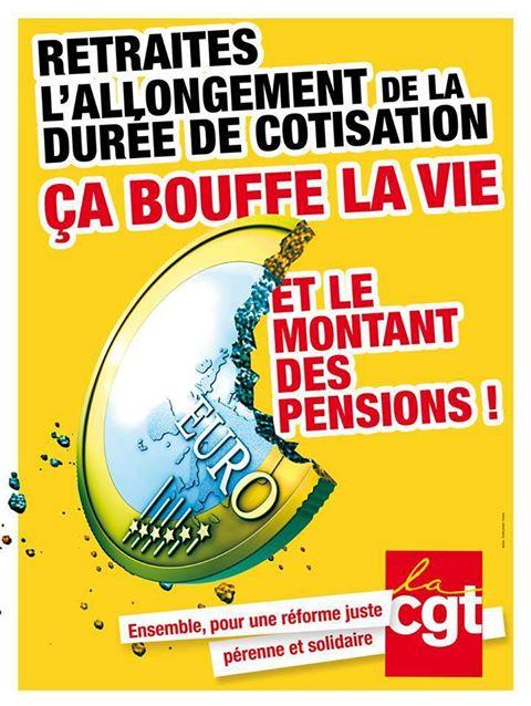 Affiche CGT pour la défense des retraites dans CGT cgt1