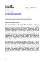 Syndicat de la Magistrature : Lettre ouverte à Manuel Valls dans France lettreavalls