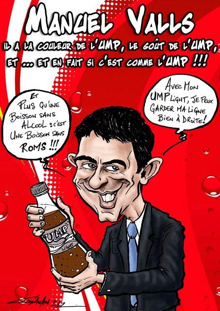 « Manuel Valls est un sarkozyste » (Philippe Marlière) dans POLITIQUE valls