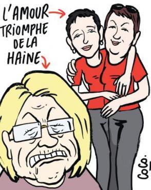Marie-Claude Bompard, la peste en talons hauts  dans Mariage pour tous cactus0509