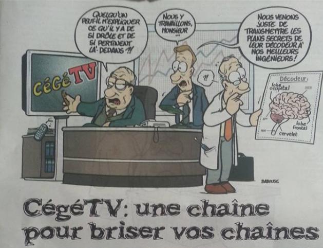 CégéTV: une chaîne pour briser vos chaînes  dans CGT capturecegetv