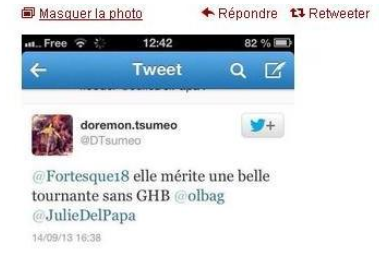 capturetweet c'est un scandale! dans France