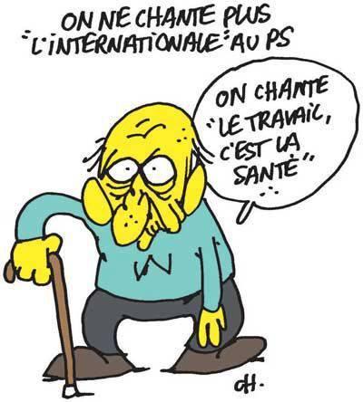 Humour et Politique dans Humour caricature-ps-retraite