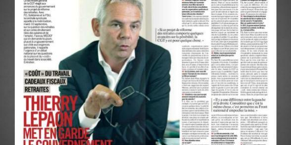 Thierry Lepaon dans l'HD :