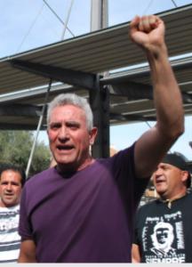 Espagne : Arrestation de Diego Cañamero Valle, le leader du Syndicat andalou des travailleurs (SAT) dans Espagne capturediegocanamero-216x300