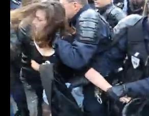 Journée pour le droit au logement : la réponse musclée du gouvernement dans France capturerepression