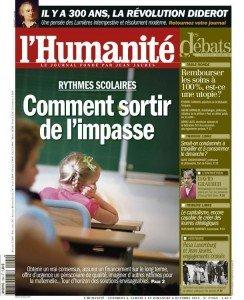 Rythmes scolaires : 5 mesures pour sortir de l'impasse dans Education nationale huma0410-244x300
