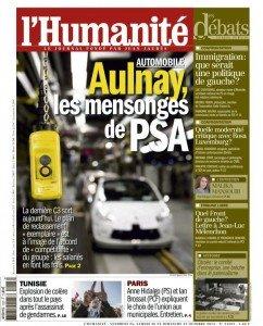 Aulnay, les mensonges de PSA dans CGT huma2510-242x300