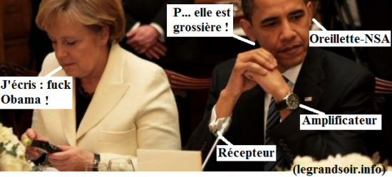Humour et Politique dans Humour obama_merkel