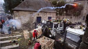 Violentes échauffourées à Quimper dans ECONOMIE captureviolencesquimper-300x167