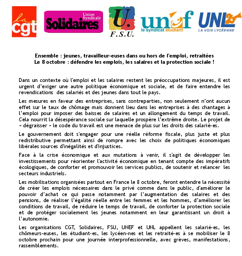scandale syndicat solidaire
